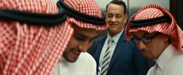Nový příběh Toma Hankse ze Saudské Arábie.