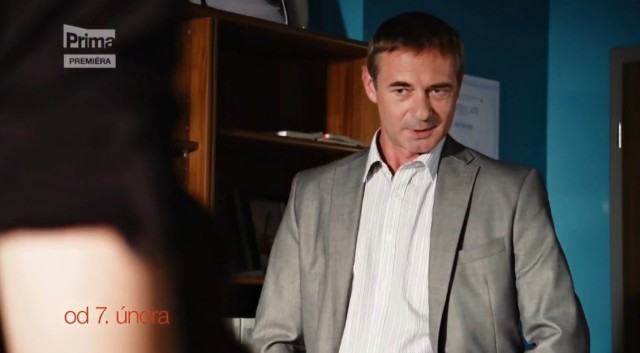 Jiří Dvořák si zahrál majora JUDr. Jana Sochora.